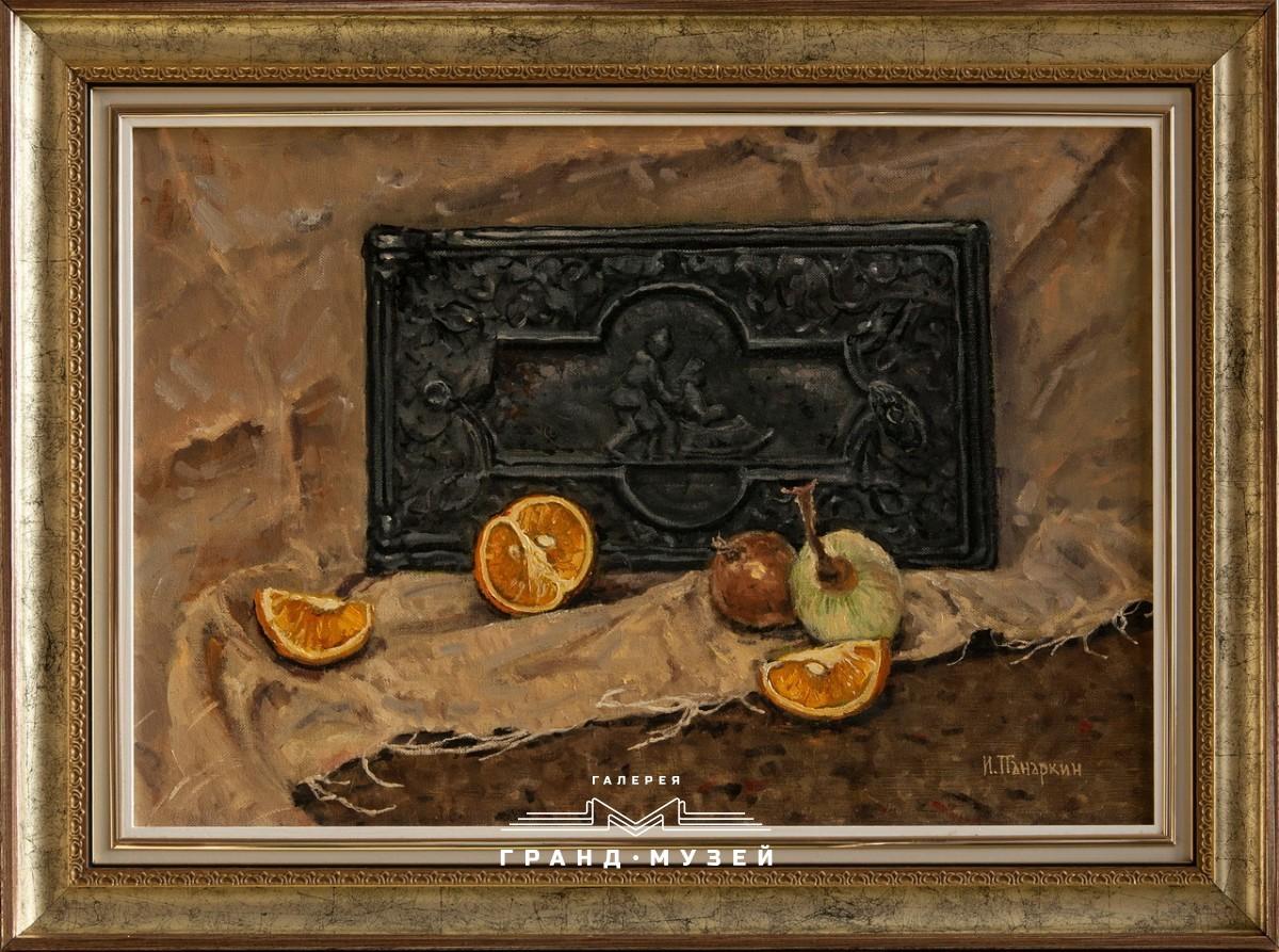 Печная дверка и лук