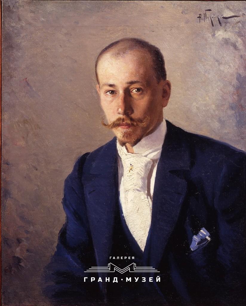 Портрет скульптора К.Ф. Крахта