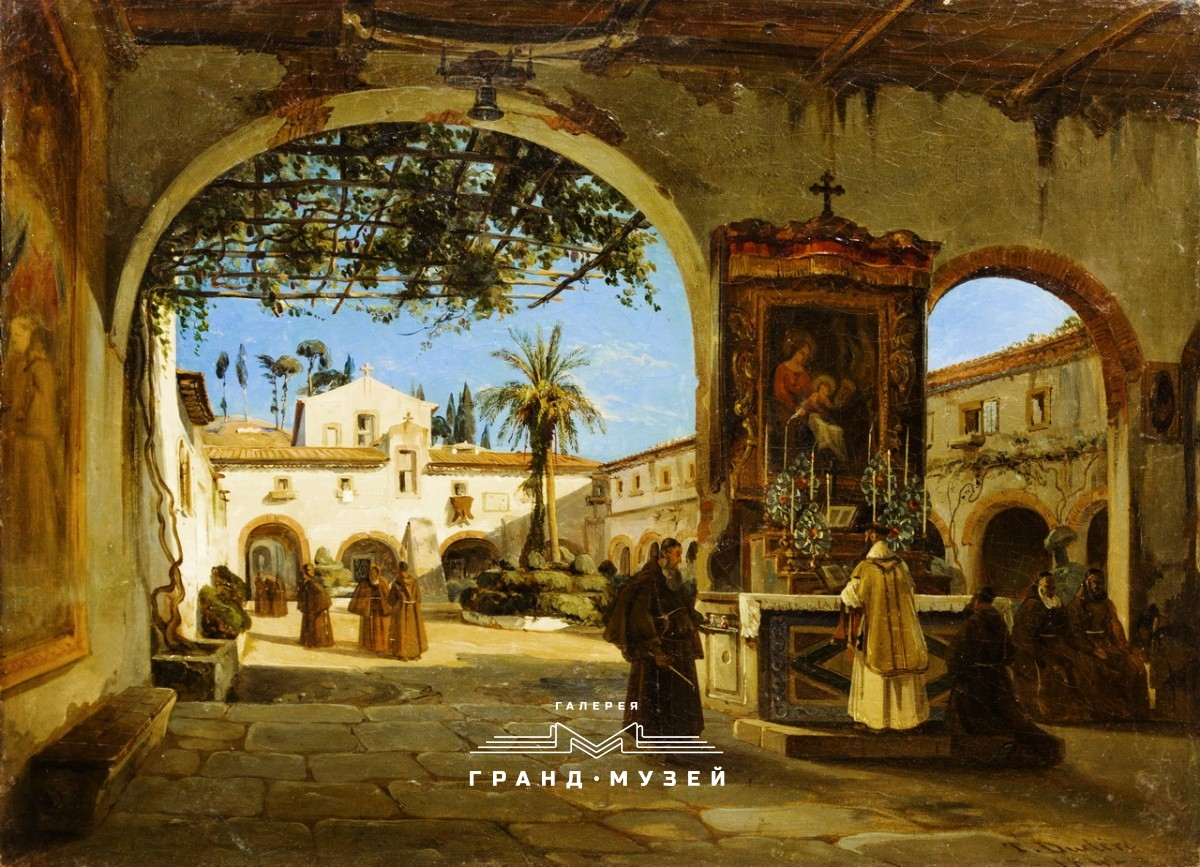 Монастырский домик в Палермо
