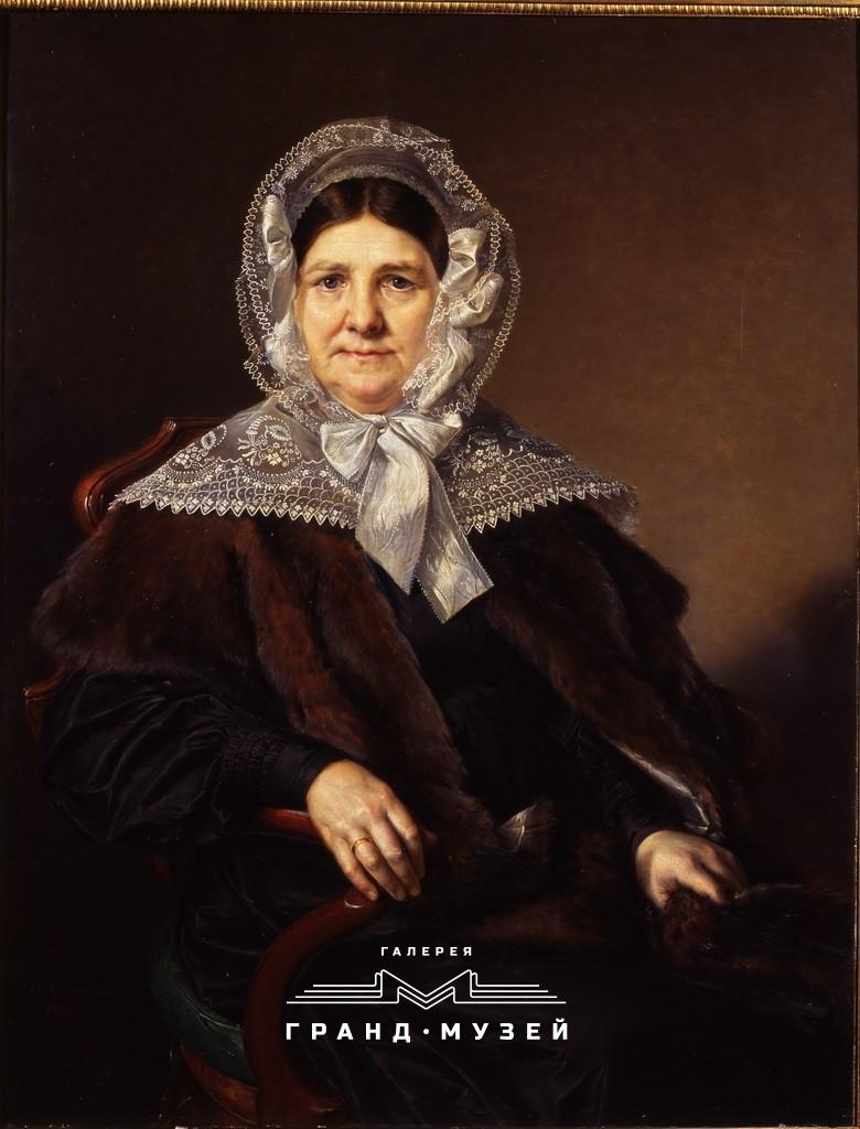 Портрет Мазуриной