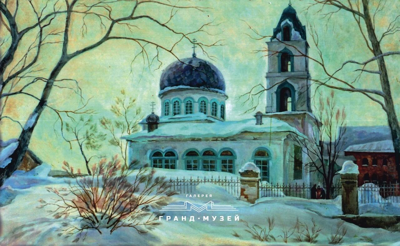 Троицкая церковь (зима)