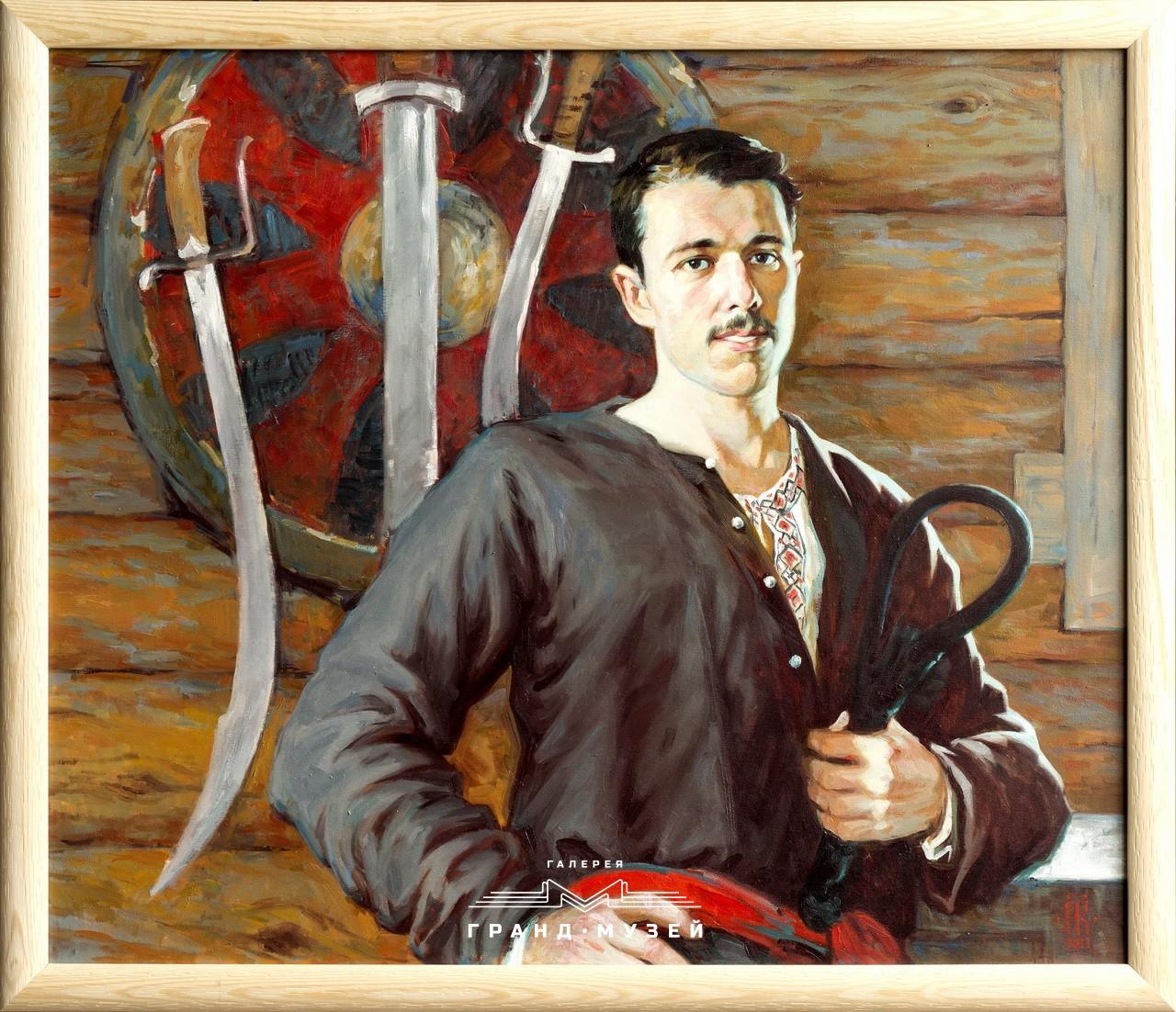 Портрет молодого казака