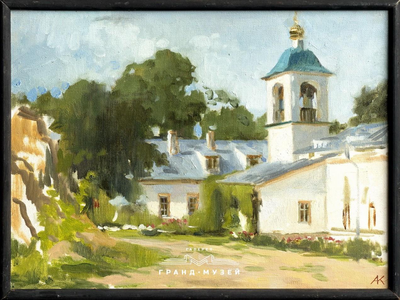 Двор Снетогорского монастыря