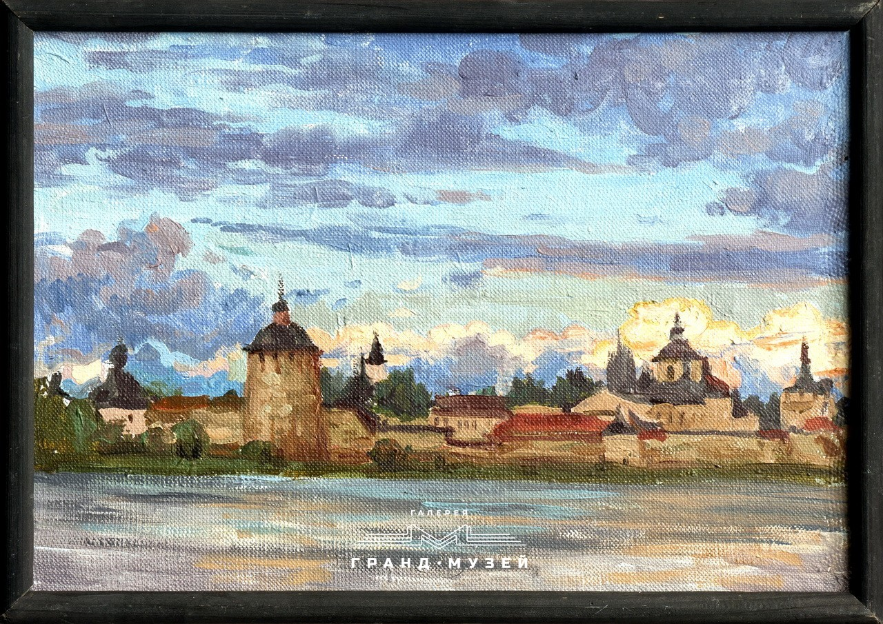 Закат над Кирилло-Белозерским монастырём