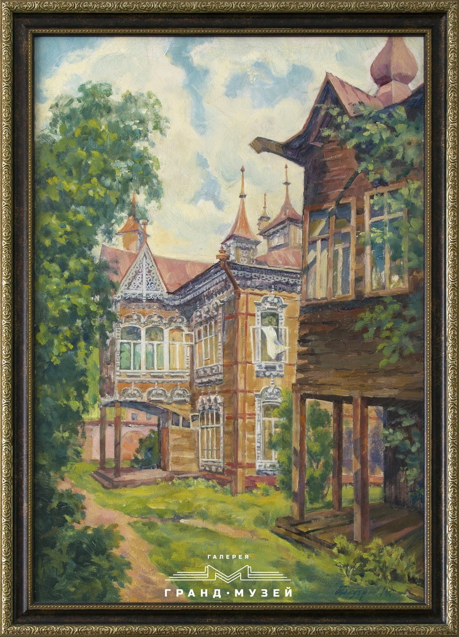 Дом на Красноармейской, во дворе
