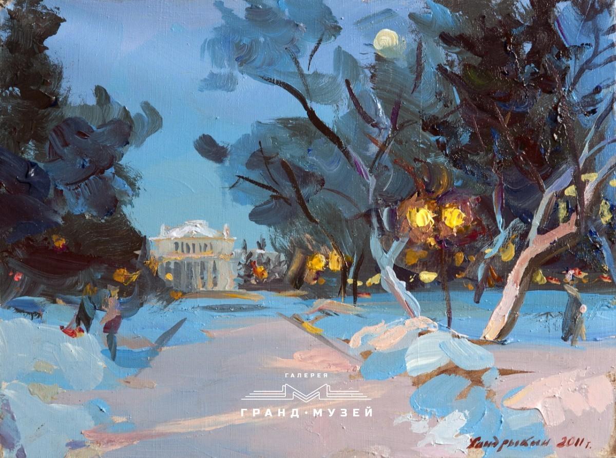 Первомайский сквер. Филармония