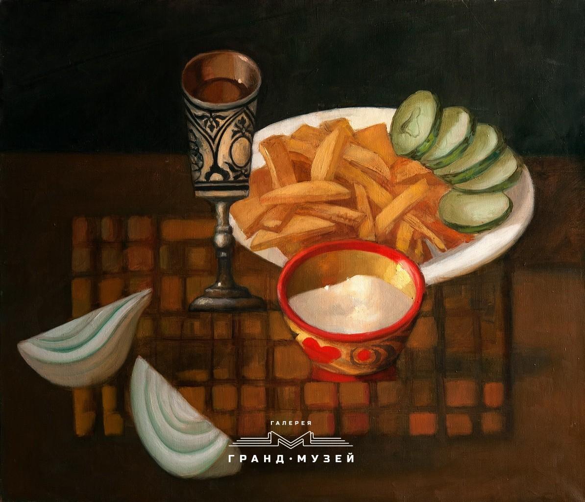 Картошка, огурчики